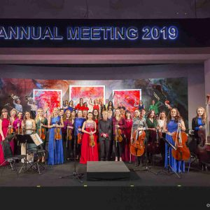 Opening Concert at the Annual Meeting 2019 of the World Economic Forum in Davos